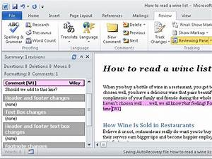 how to add comments in a word 2010 document dummies With word documents side by side mac