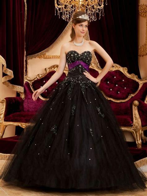 black quinceanera dresses dressedupgirlcom