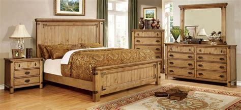 pioneer burnished pine bedroom set  furniture