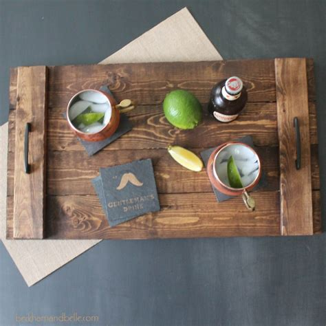 diy holiday gifts wooden serving tray steampunk home
