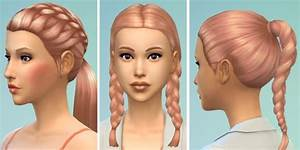 Strawberry Blonde Hair Colour By Kellyhb5 At Mod The Sims