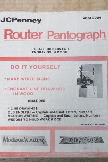 pantograph letter templates