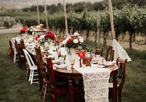 Idee Deco Pour Mariage : table de mariage 35 id es d co dignes de ce grand jour elle d coration ~ Teatrodelosmanantiales.com Idées de Décoration