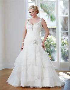 guide to plus size wedding dress styles for curvy brides With curvy women wedding dresses
