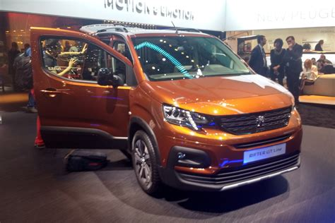 New 2018 Peugeot Rifter: UK prices and specs announced ...