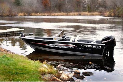Crestliner Jon Boats Reviews by 2010 Crestliner 1750 Raptor Te Aluminum Fishing Boat