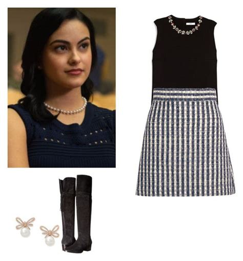 Veronica Lodge outfit with a skirt and knee boots - riverdale   Favorite Outfits 9   Pinterest ...