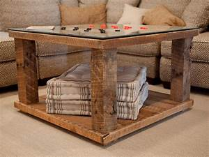 How to build a rustic checkerboard table how tos diy for How to build a rustic coffee table