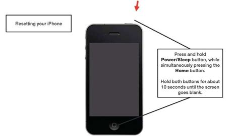 how to reset iphone 5 basic troubleshooting