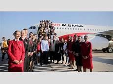 Neue Airline Air Albania startet mit Airbus A319