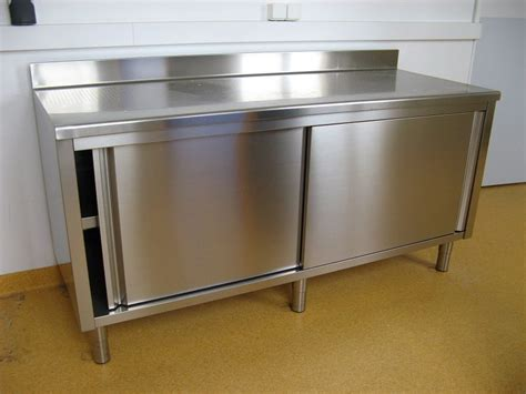 table inox cuisine meuble de cuisine en inox d occasion table de lit