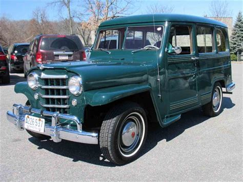 willys jeep wagon  sale classiccarscom cc