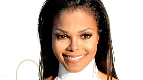 Janet Jackson Smiling Brightly As Her Baby Joins Her