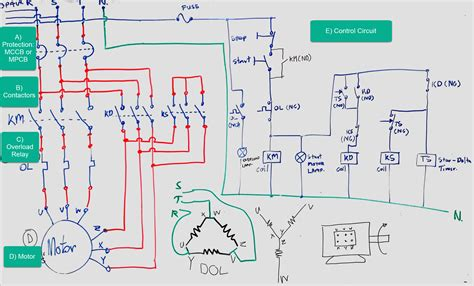 beginners guide  wiring  star delta circuit