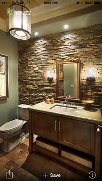 lovely bathroom accent wall Beautiful bathroom theme/design! | Furniture/Room Ideas | Pinterest | Beautiful, Maybe someday ...