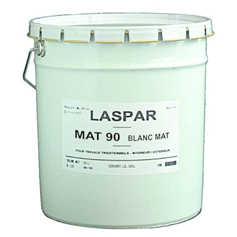 peinture acrylique blanche peinture acrylique blanche opacifiante mat 90 laspar