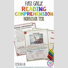 Nonfiction Reading Comprehension Ri110  Common Core Kingdom  First Grade Reading