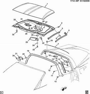 Chevrolet Tracker Body Parts Diagram
