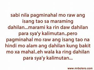 QUOTES ABOUT LOVE TAGALOG PATAMA SA GIRLFRIEND image ...