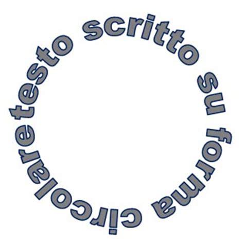 si鑒e social microsoft come creare e stare un testo su forma circolare