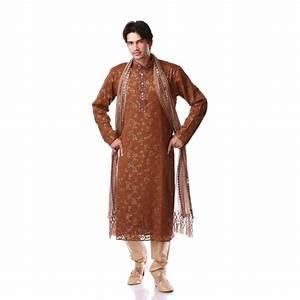 Tenue Indienne Homme : tenue indienne orientale marron et dor e ~ Teatrodelosmanantiales.com Idées de Décoration