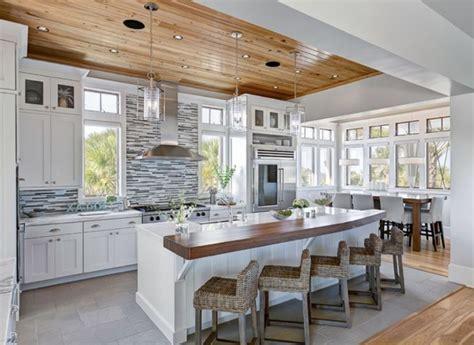 ilot central de cuisine pas cher 45 idées en photos pour bien choisir un îlot de cuisine