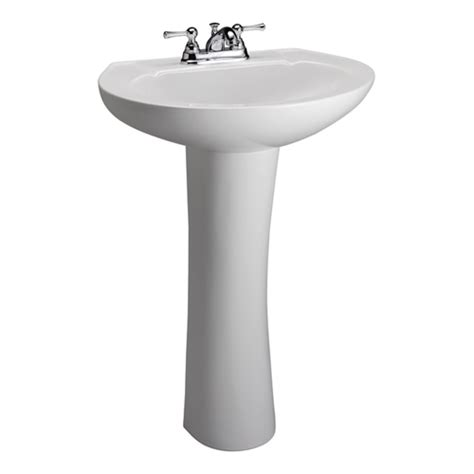 Gerber Maxwell Pedestal Sink by Mountainland Supply Gerber 29 842 Wht Maxwell Pedestal
