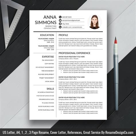 Popular Cv Templates by 2019 Best Resume Template Word Modern Cv Template 2019