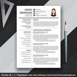 Instant Download  The Anna Resume  U2013 Resumedesignco Com
