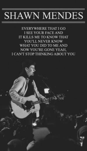 shawn mendes meaningful quotes quotesgram