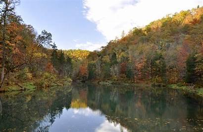 Mirror Lake Arkansas Blanchard Springs Outdoor Activities