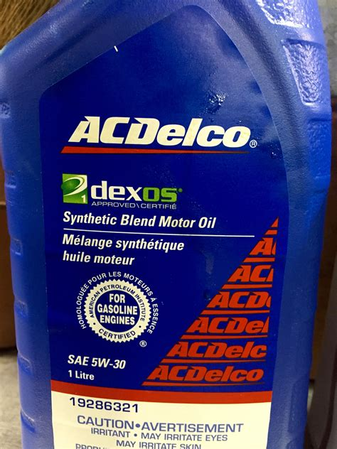type  oil    conventional synthetic