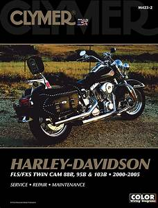Clymer Service Repair Manual Harley Davidson 00