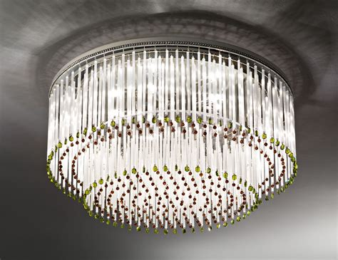 nella vetrina italamp  swarovski crystal ceiling light