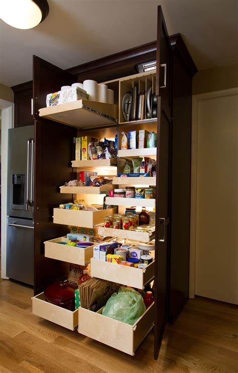 Storage Pantry by Sneaky Storage Spaces That Will Declutter Your Kitchen