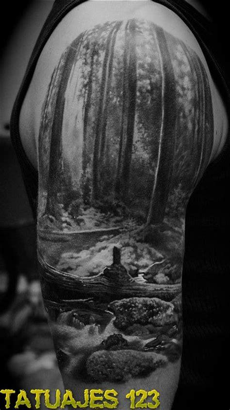 bosque  rio tatuajes
