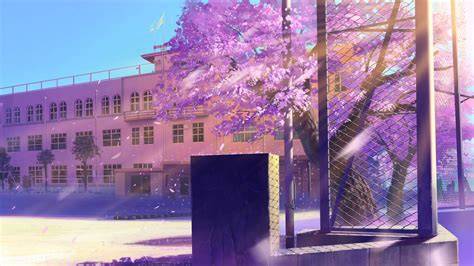 3840x2160 wallpaper anime school winter fondos