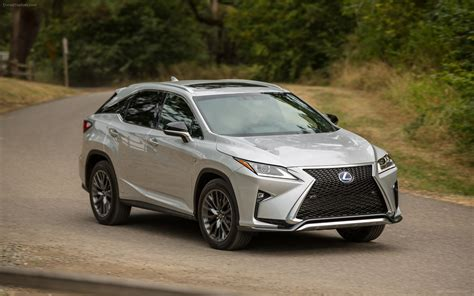 lexus rx 2016 f sport lexus rx 450h f sport 2016 widescreen exotic car wallpaper