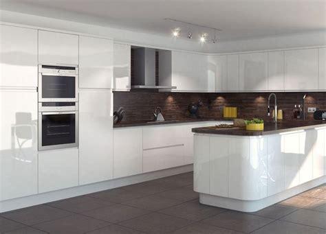 glossy white kitchen cabinets the 25 best white gloss kitchen ideas on 3852