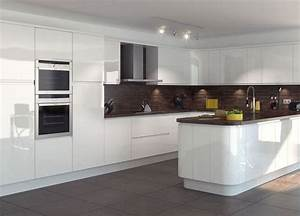 the 25 best white gloss kitchen ideas on pinterest With kitchen colors with white cabinets with glossier stickers