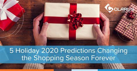holiday predictions changing shopping season