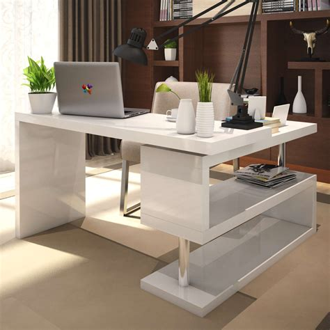 white office table desk awesome modern white office desk modern white office