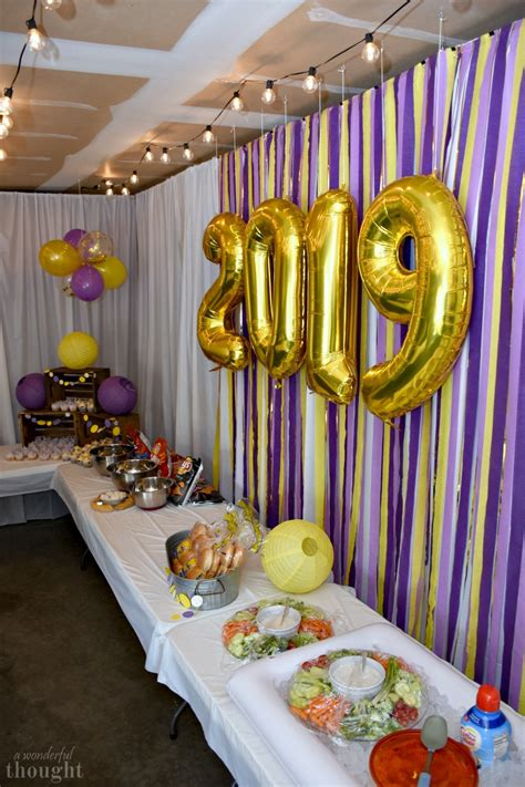 Your grad will probably love our graduation party props, and a photo banner will make a great keepsake for a dorm room after the party is over. Graduation Party Ideas | Garage Party - A Wonderful Thought