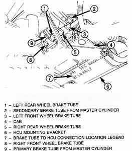 32 2000 Dodge Caravan Brake Lines Diagram