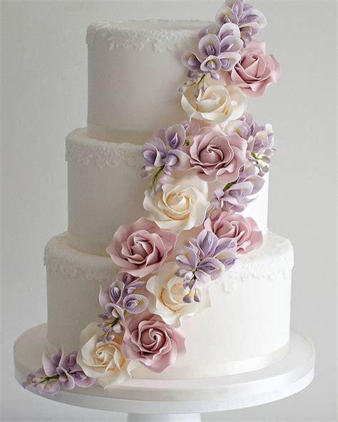 tier wedding cakes ideas  pinterest elegant