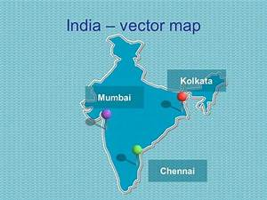 powerpoint map of india With india map ppt template