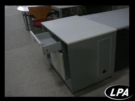 bureau imprimante meuble bureau imprimante usm haller caisson pour