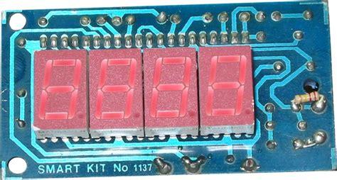 Led Display Digital Voltmeter Circuits Diagrams