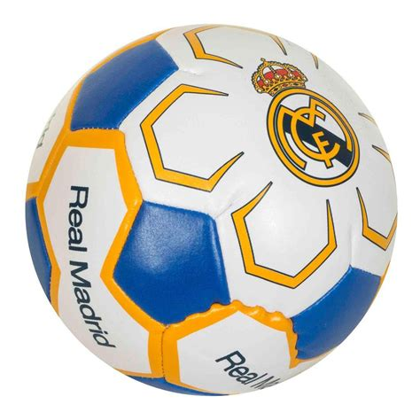 Real Madrid CF Official 4 Inch Mini Soft Soccer Ball ...