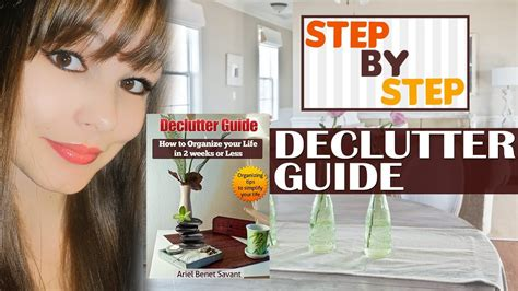 How To Declutter Your Home And Organize Your Life.....tips